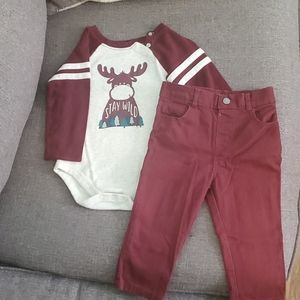 Long sleeve with matching pants